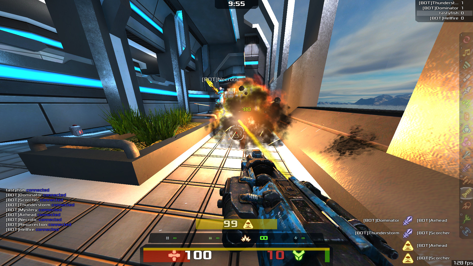 xonotic gameplay
